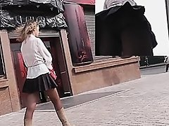 Additional concupiscent teenage upskirt caught on web camera