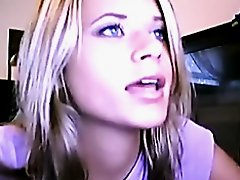 This chick works hard in her cam shows
