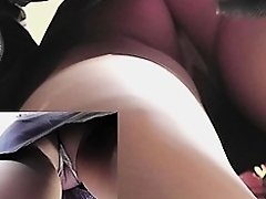 Very hawt details of thrilling upskirt